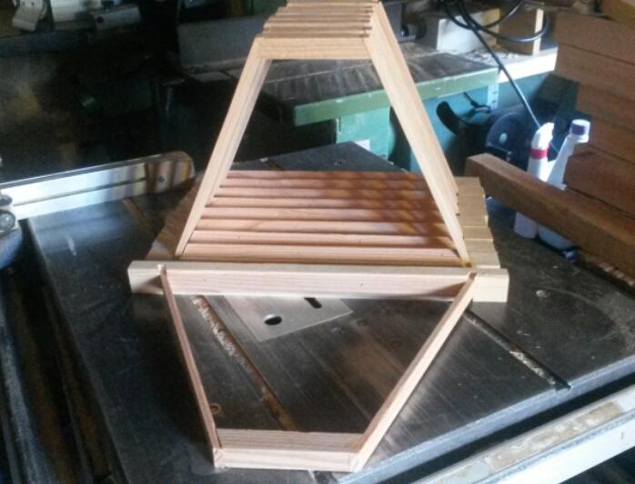 Top Bar Hive Frames Beekeeping Afloat
